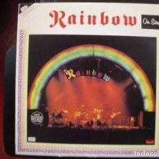 Discos de vinilo: RAINBOW- ON STAGE., DOBLE LP.. Lote 151117234