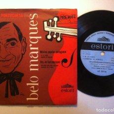 Discos de vinilo: ANITA GUERREIRO / ORQUESTRA DE BELO MARQUES - MUSICA PORTUGUESA - EP PORTUGUES - ESTORIL. Lote 151127318