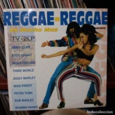 Discos de vinilo: REGGAE - REGGAE - DOBLE LP. Lote 151127718