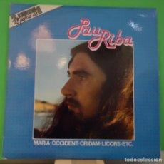 Discos de vinilo: LP PAU RIBA – PAU RIBA 2LP. Lote 151134670