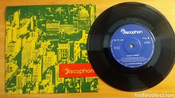 Discos de vinilo: RAREZA. Los más célebres valses de Chopin. Single 33rpm. Discophon 1964. - Foto 3 - 151138538