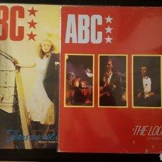 Discos de vinilo: LOTE MAXIS - ABC - THE LOOK OF LOVE - TEARS ARE NOT ENOUGH - EDICION ESPAÑOLA. Lote 151139446