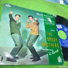 Discos de vinilo - The brook brothers ep hello mary lou + 3 espala 1961 - 151146174