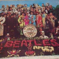 Discos de vinilo: THE BEATLES SGT. PEPPERS LONELY HEARTS CLUB BAND-LP ESPAÑOL-1987- LABEL GRIS. 064 10 41771-COMPLETO-. Lote 151151562