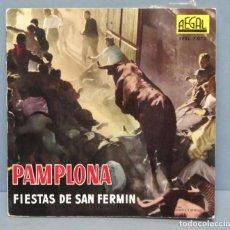Discos de vinilo: EP. PAMPLONA. FIESTAS DE SAN FERMÍN . Lote 151154918