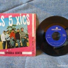 Discos de vinilo: ELS 5 XICS - LOTE DE 2 SINGLES ANTIGUOS (DE LOS AÑOS 60). Lote 151192626