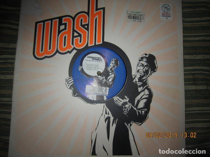 WASH - WASH MAXI 33 / 45 R.P.M. - ORIGINAL ALEMAN - KIKO RECORDS 1997 (Música - Discos de Vinilo - Maxi Singles - Techno, Trance y House)