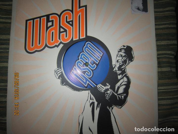Discos de vinilo: WASH - WASH MAXI 33 / 45 R.P.M. - ORIGINAL ALEMAN - KIKO RECORDS 1997 - Foto 2 - 151201670