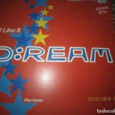 Discos de vinilo: D: REAM - I LIKE IT REMIXES - MAXI 33 R.P.M. - ORIGINAL INGLES - WARNER BROS. RECORDS 1993. Lote 151206146