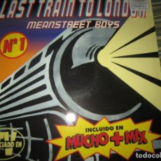 Discos de vinilo: MEANSTREET BOYS - LAS TRAIN TO LONDON MAXI 45 R.P.M. - ORIGINAL ESPAÑOL - MUSIC FACTORY 1996 - . Lote 151208258