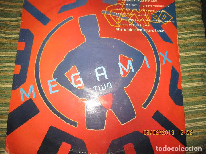 CAMEO - MEGAMIX TWO MAXI 45 R.P.M. - ORIGINAL INGLES - POLYGRAM RECORDS 1987 - (Música - Discos de Vinilo - Maxi Singles - Techno, Trance y House)