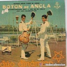 Discos de vinilo: DÚO DINÁMICO - BOTON DE ANCLA, 15 AÑOS TIENE MI AMOR ... - EP LA VOZ DE SU AMO 1960. Lote 151211354