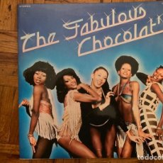 Discos de vinilo: CHOCOLAT'S ?– THE FABULOUS CHOCOLAT'S SELLO: NOVOLA ?– ZL-228 FORMATO: VINYL, LP, ALBUM, GATEFOLD . Lote 151212418