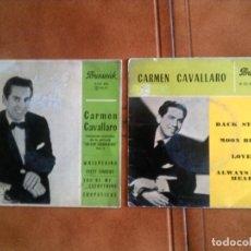 Discos de vinilo: LOTE DE DOS DISCOS DE CARMEN CAVALLARO AÑOS 1961 Y 1962. Lote 151213470