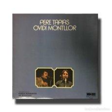 Discos de vinilo: PERE TAPIES - OVIDI MONTLLOR . Lote 151223394