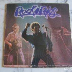 Discos de vinilo: LP DOBLE MIGUEL RÍOS. ROCK & RIOS. EN DIRECTO. POLYDOR, 1982.. Lote 151224522