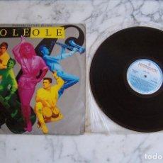 Discos de vinilo: LP OLÉ OLÉ. BAILANDO SIN SALIR DE CASA. HISPAVOX, 1986.. Lote 151224970