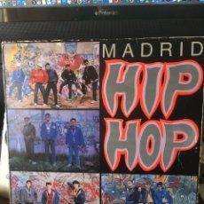 Discos de vinilo: MADRID HIP HOP-1989-ENCARTE Y LIBRETO. Lote 151226652