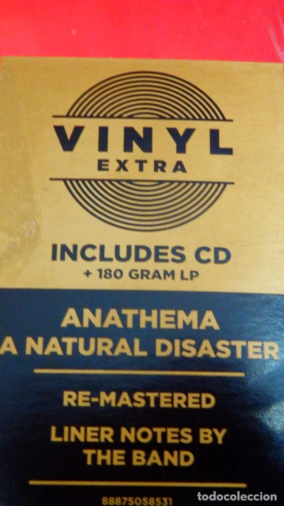 Discos de vinilo: ANATHEMA * LP 180g + CD * A NATURAL DISASTER * LTD Precintado!! - Foto 2 - 163067361