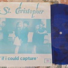 Discos de vinilo: ST. CHRISTOPHER + EL VIAJE DE LAS FLORES FLEXI-DISC SINGLE 1990. Lote 151234660