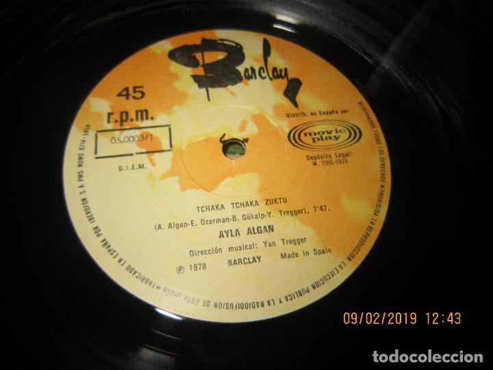 Discos de vinilo: AYLA ALGAN - TCHAKA TCHAKA KUZTU MAXI 45 - ORIGINAL ES`PAÑOL BARCLAY RECORDS 1978 - MUY NUEVO (5). - Foto 4 - 151235074