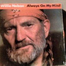 Discos de vinilo: SINGLE (VINILO) DE WILLIE NELSON AÑOS 80. Lote 151237546