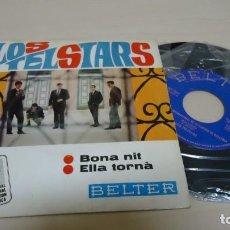Discos de vinilo: LOS TELSTARS - BONA NIT--ELLA TORNA -INTERNACIONAL FESTIVAL DE LA CANCION DE MALLORCA -1967-SPAIN. Lote 151239874
