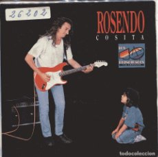 Discos de vinilo: ROSENDO / COSITA / SUMISION (SINGLE 1989 PORTADA ABIERTA 40 PRINCIPALES). Lote 151255258