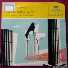 Discos de vinilo: EPL VINILO CHAIKOWSKY CAPRICHO ITALIANO OP 45 ORQUESTA FILARMONICA DE MÚNICH. Lote 151273152