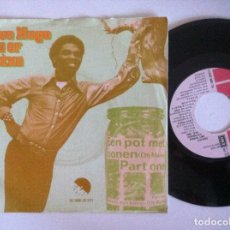 Discos de vinilo: LIEVE HUGO - EEN POT MET BONEN (OH MARIE) - SINGLE HOLANDES 1975 - EMI. Lote 151278446