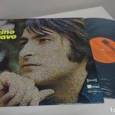 Discos de vinilo: NINO BRAVO - UN BESO Y UNA FLOR --1973- FOCO- MADRID -DISCOLIBRO -. Lote 151285582