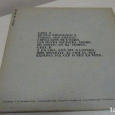 Discos de vinilo: OVIDI MONTLLOR -A ALCOI-EDIGSA CM 294 LP -1974- BCN - . Lote 151290998