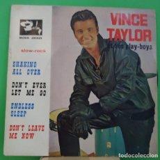 Discos de vinilo: EP 7'' VINCE TAYLOR - CANTA ... Lote 151297150