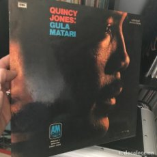 Discos de vinilo: QUINCY JONES – GULA MATARI 1971 ARGENTINA . Lote 151300474