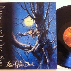 Discos de vinilo: IRON MAIDEN - FEAR OF THE DARK - DOBLE LP ESPAÑOL 1992 - EMI . Lote 151302666