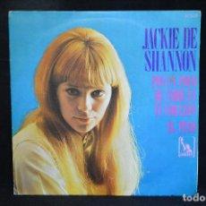 Discos de vinilo: JACKIE DE SHANNON - PON UN POCO DE AMOR EN TU CORAZON / EL PESO - SINGLE. Lote 151303098