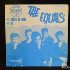 Discos de vinilo: THE EQUALS - I WON´T BE THERE / FIRE - SINGLE. Lote 151304642