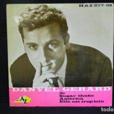 Discos de vinilo: DANNYEL GERARD - JE +3 - EP. Lote 151305030