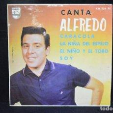 Discos de vinilo: ALFREDO - CARACOLA +3 - EP. Lote 151305410