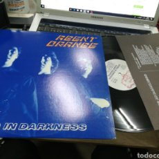 Discos de vinilo: AGENT ORANGE LP LIVING IN DARKNESS U.S.A. 1981. Lote 151305461