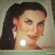 Discos de vinilo: THE CRYSTAL GAYLE - SINGLES ALBUM LP - ORIGINAL INGLES - UNITED ARTISTS 1980 - MUY NUEVO (5). Lote 151308506