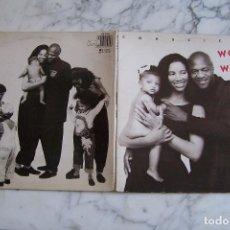 Discos de vinilo: LP WOMACK & WOMACK, CONSCIENCE.. Lote 151308798
