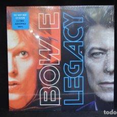 Discos de vinilo: DAVID BOWIE - LEGACY - 2 LP 180 GR.. Lote 151309498