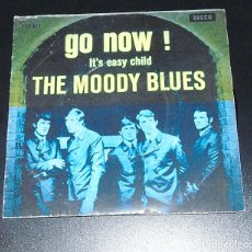 Discos de vinilo: THE MOODY BLUES -----GO NOW ---IT´S EASY CHILD --------EDICION INGLESA DEL AÑO 1964. Lote 151319058