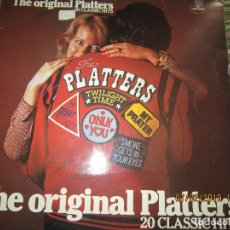 Discos de vinilo: THE PLATTERS - THE ORIGINAL PLATTERS LP - EDICION INGLESA - MERCURY RECORDS 1978 - STEREO -. Lote 151323178