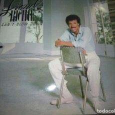 Discos de vinilo: LIONEL RICHIE - CAN´T SLOW DOWN LP - ORIGINAL ALEMAN MOTOWN RECORDS 1983 GATEFODL Y FUNDA INTERIOR.. Lote 151324614