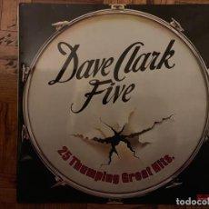 Discos de vinilo: THE DAVE CLARK FIVE – 25 THUMPING GREAT HITS SELLO: POLYDOR – 23 83 492 FORMATO: VINYL, LP . Lote 151325126