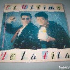 Discos de vinilo: EL ULTIMO DE LA FILA - NUEVO PEQUEÑO CATALOGO DE SERES Y ESTARES .. LP DE PERRO 1990 . Lote 151330626