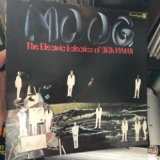 Discos de vinilo: DICK HYMAN ‎– MOOG THE ELECTRIC ECLECTICS OF DICK HYMAN GAT 1969 ARGENTINA . Lote 151331150