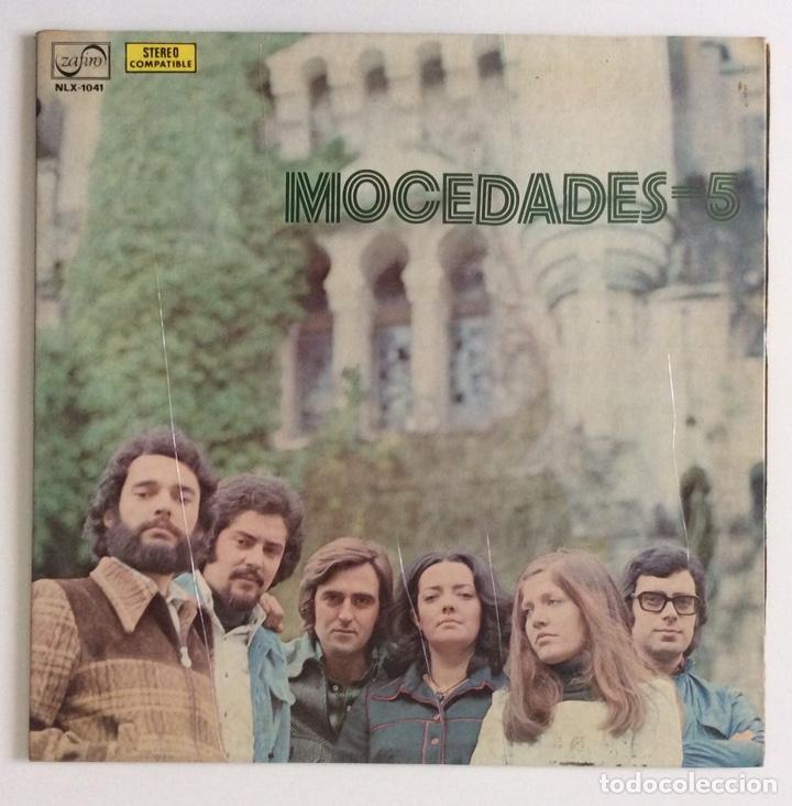 MOCEDADES 5 VINILO L.P. (1974) (Música - Discos - LP Vinilo - Grupos Españoles de los 70 y 80)